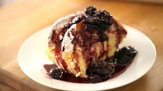 Beth's Baked French Toast with Cherry Compote (+playlist)