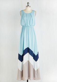 Romantic Resplendence Dress in Sky, @ModCloth