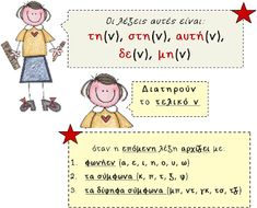 Greek Language, Only Child, School Hacks, Special Education, Elementary Schools, Childhood, Teacher, Comics, Learning