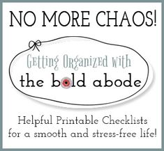 House a Mess?  Feeling Stressed?  Get yourself organized and create simple routines today!