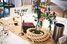 Image by Mister Phill - A rainbow colour scheme for a fete inspired wedding at South Farm