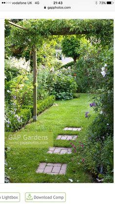 9 Beautiful Backyard Ideas for Small Yards – Garden Ideas 101 Back Gardens, Outdoor Gardens, Pergola, Back Garden Design, Backyard Ideas For Small Yards, House Landscape, Tropical Garden, Spring Garden, Garden Planning