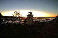 Walton Lighthouse, Bay of Fundy, NS