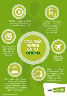 #EcoTips #oficina #InVivienda #Ahorro #Reciclar #VidamasVerde