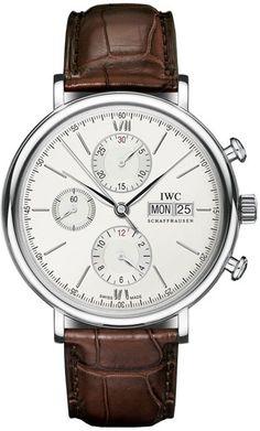 IW391007 IWC Portofino Chronograph Automatic Mens Watch Authenticwatches.com
