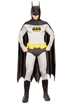Authentic Classic Batman costume #Halloween
