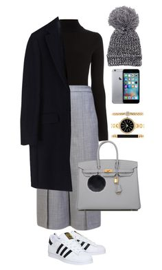 """""""Untitled #121"""" by stickydolls on Polyvore featuring Warehouse, Proenza Schouler, adidas, MSGM, Hermès, Style & Co., women's clothing, women, female and woman"""