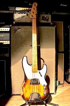 1955 Fender P bass
