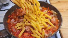 Easy Pasta Recipes, Cooking Recipes, Pizza Lasagna, Pasta Casera, Baked Mac, Penne, Wok, Pasta Dishes, Bon Appetit
