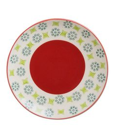 Look what I found on #zulily! Red Tidbits Plate #zulilyfinds