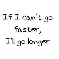 My reasoning for long distance running :)