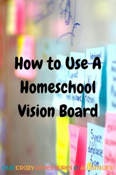 Have you ever heard of a homeschool vision board? Have you ever heard of a homeschool vision board? It's just like a business or personal one but it has your homeschooling goals instead. See how easy it is to make one. Homeschool Curriculum, Homeschooling Resources, Bulletin Board Borders, Kids Learning, Learning Goals, How To Start Homeschooling, Multiplication For Kids, School Pictures, Home Schooling