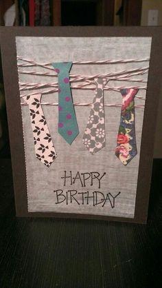 Male Birthday Card By Trisha