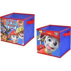 Nickelodeon Paw Patrol 2-Pack Storage Cubes - Walmart.com