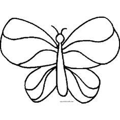 Butterfly outline ❤ liked on Polyvore featuring outlines, shapes, collab, frames and borders