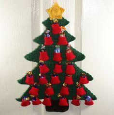 Christmas Tree Advent Calendar Free Crochet Pattern