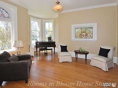 Century home staged by Rooms in Bloom in Stratford, ON.