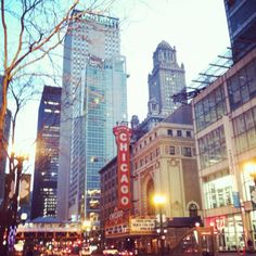 State St & Randolph St. Times Square, Sweet Home, Chicago, Travel, Voyage, House Beautiful, Viajes, Traveling, Trips