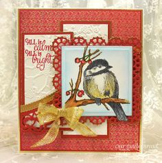 ODBDSLC262 Sketch Our Daily Bread Designs Stamp sets: You Will Find Refuge, Perfect Light, Our Daily Bread Designs Custom Dies: Layered Lacey Squares, Leafy Edged Borders, Our Daily Bred Designs Paper Collection: Christmas 2015