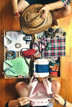 packing for a summer getaway