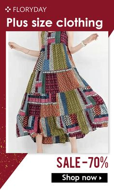 Shop Floryday for affordable Plus Dress. Floryday offers latest ladies' Plus Dress collections to fit every occasion. Plus Size Clothing Sale, Trendy Plus Size Dresses, Plus Dresses, Dresses For Sale, Plus Size Outfits, 60 Fashion, Plus Size Fashion, Celebrity Style Casual, Plus Size Kleidung