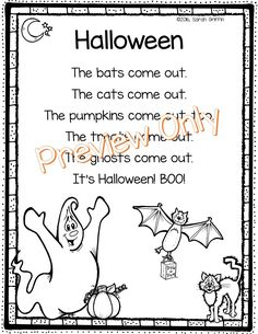 Five Little Pumpkins poem. love this, used to sing it at a