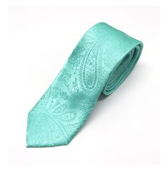 Mens Tie Mint Green Tonal Paisley Skinny Necktie With Matching Pocket Square Option by TieObsessed on Etsy https://www.etsy.com/listing/156424165/mens-tie-mint-green-tonal-paisley-skinny