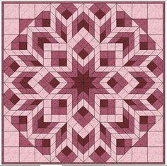 Diamonds & Squares | Craftsy