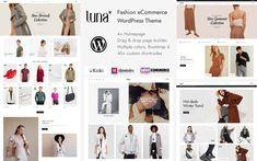 Luna Fashion, Fifth Business, First Website, Winter Trends, Modern Minimalist, Custom Logos, Wordpress Theme, Ecommerce, Product Launch