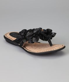 Take a look at this Black Adie Sandal by b.o.c. by Born on @zulily today!