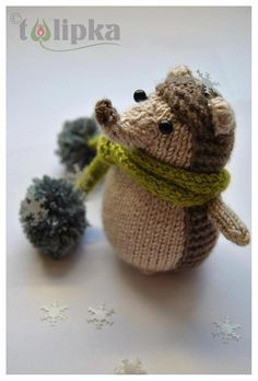 Thank you hedgehog - pattern by Amy Gaines