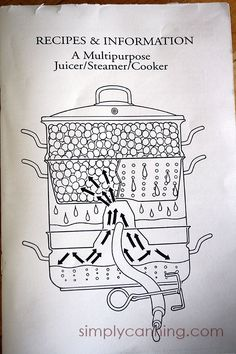 I'm loving my new Stainless Steel Steam Juicer and guess what it does more than… Juicer Recipes, Canning Recipes, Drink Recipes, Smoothie Recipes, Smoothies, Grape Juice, Apple Juice, Steam Juicer, Jelly Maker