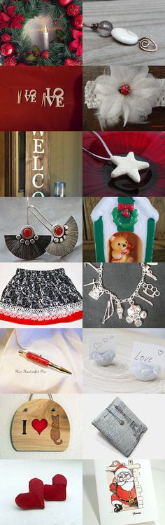 Team Unity Group 3: Christmas in July by Chizuko Takahashi on Etsy--Pinned with TreasuryPin.com