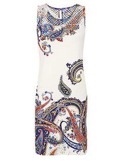 Celestino - Φόρεμα μίνι εμπριμέ αμάνικο