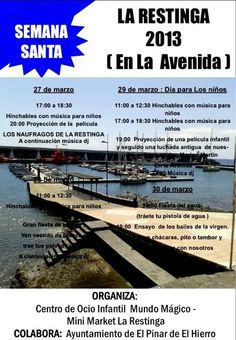 Actividades gratuitas en Semana Santa, Ayuntamiento El Pinar
