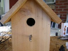 """I have built many of these $2 birdhouses as gifts. The basis of the $2 birdhouse is a 6"""" wide Dog Eared Cedar Picket, which comes in 5 and 6 foot lengths. The cheaper 5 foot picket will be enough to build one birdhouse and typically sells for less than $2. Please make sure your picket has not been stained or treated, just the natural Cedar. Also, keep in mind that any 1""""x6"""" stock will work; I have transformed quite a bit of scrap wood into birdhouses. I have been told to avoid ..."""