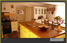 Fotogalerie kuchyní a kuchyně Bening - Selská vesnická kuchyně
