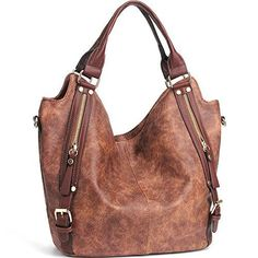 af2e032405 Shop a great selection of JOYSON Women Handbags Hobo Shoulder Bags Tote PU  Leather Handbags Fashion Large Capacity Bags. Find new offer and Similar  products ...