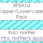 Freebie! I will be using this to introduce, teach, and asses the Common Core Standard: RFS.K.1.d: Recognize and name all upper and lowercase letters if the ...