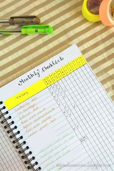 The simplest method to manage your recurring tasks in bullet journal. Click on to find the method of weekly and monthly task tracker in bullet journal.