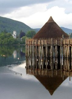 Crannog is an artificial island, usually originally built in lakes, rivers and estuarine waters, and most often used as an island settlement or dwelling place in prehistoric or medieval times. The name itself may refer to a wooden platform erected on shallow floors, but few remains of this sort have been found.