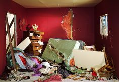 Jeff Wall's version of La Mort de Sardanapale by Eugène Delacroix (The Destroyed Room): Response writing Jeff Wall Photography, Still Life Photography, Conceptual Photography, Narrative Photography, Cinematic Photography, Colour Photography, Documentary Photography, Photography Magazine, Urban Photography