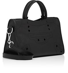 Balenciaga Blackout City Small Leather Bag | Barneys New York