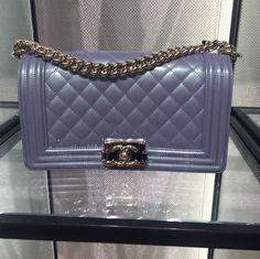 Chanel boy bag 2016 spring new color