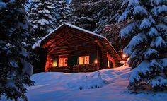 Waldhütte Seinerzeit bei der Tonnerhütte_Winderurlaub, Romantikurlaub im Winter, Skiurlaub im Winter am Zirbitzkogel