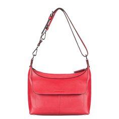 Alexandra - Besace - en cuir rouge - Kesslord - Ref: 1223555 | Brandalley