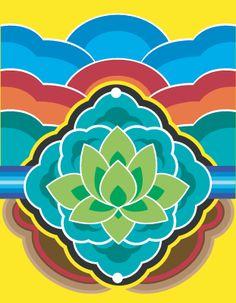 상세설명 Korea Tattoo, Korean Design, Leather Carving, Asian Decor, China Art, Korean Art, Korean Traditional, Traditional Paintings, Tribal Art