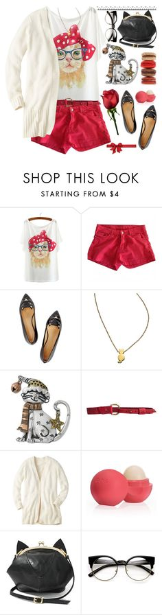 """""""Chic Cats Outfit"""" by grozdana-v ❤ liked on Polyvore featuring Paul & Joe, Charlotte Olympia, ZoÃ« Chicco, Kim Rogers, 49 Square Miles, Eos, cats and OIC"""