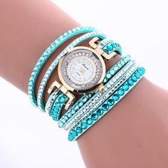 Korean Style Crystal Strap Watch
