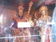 Yeshe Tsogyel and Padmasambhava
